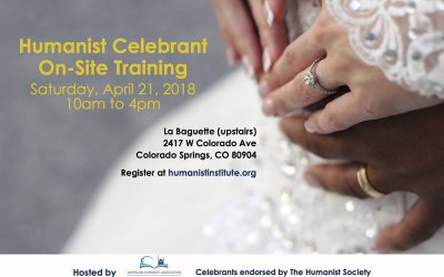 On-Site Training for Celebrants: April 21, 2018